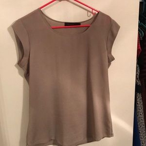 Beige blouse from the Limited